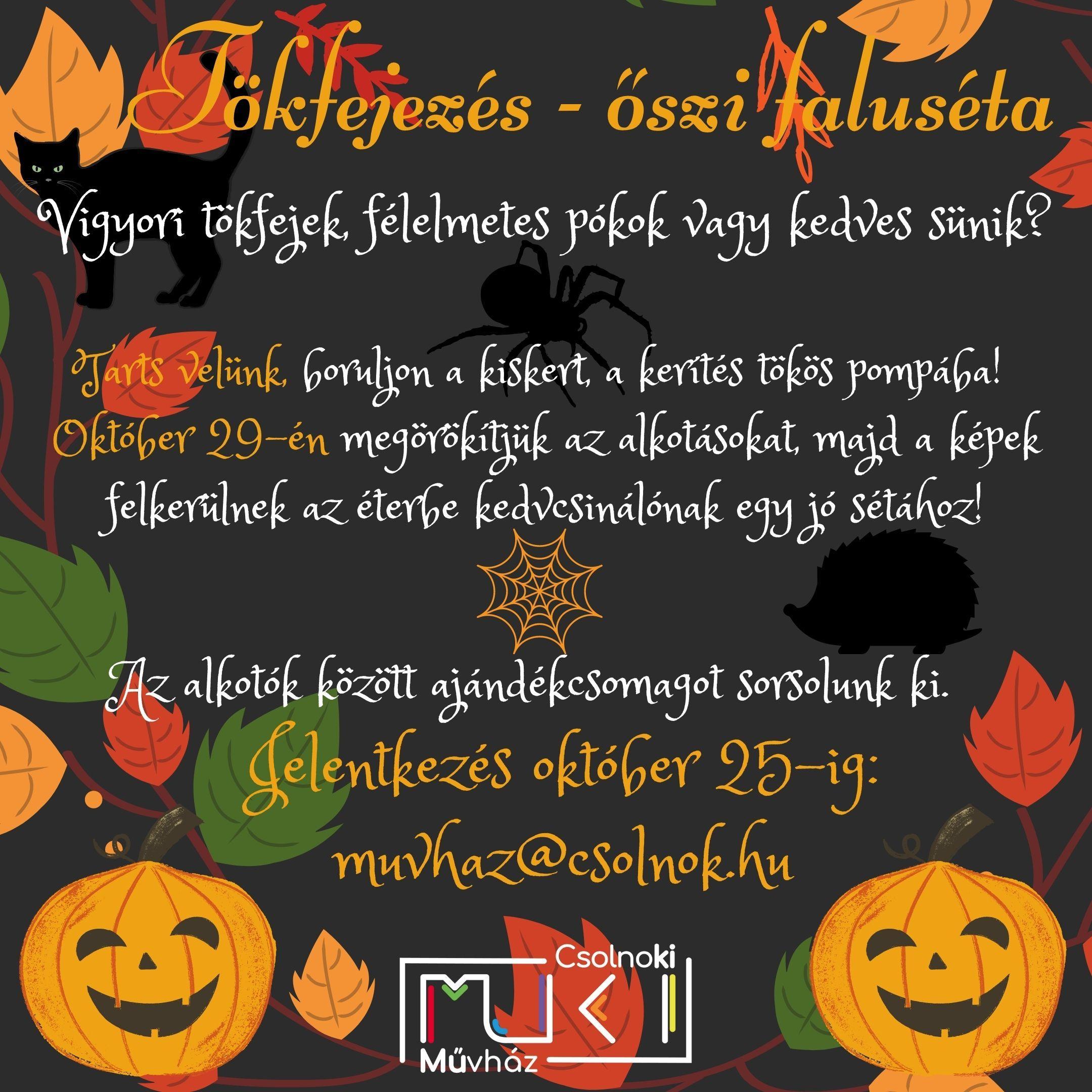 őszi plakát